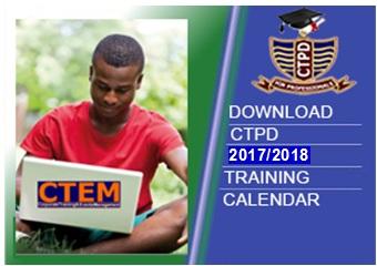 CTEM Training Calendar